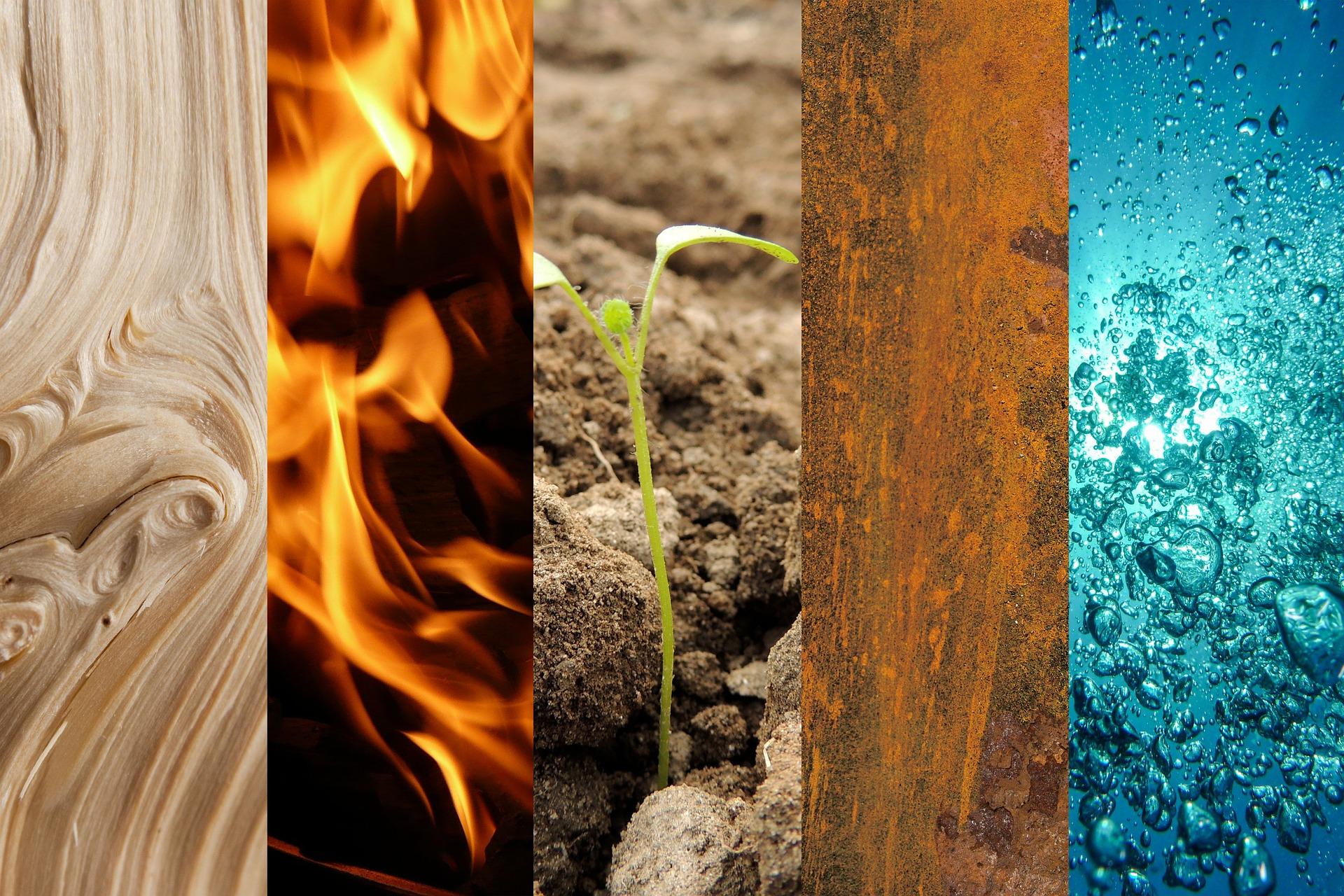 Die 5 Elemente: Woher sie kommen und was sie bedeuten