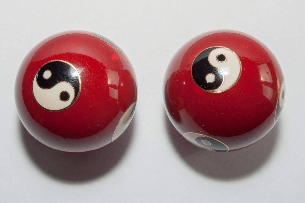 Wenn Qi fließt, sind Yin und Yang in Balance.
